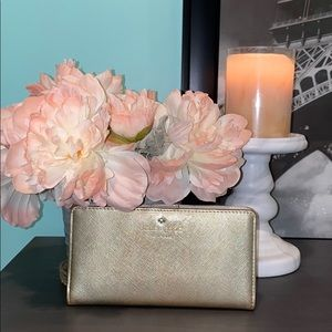 Kate Spade Gold Stacy Wallet